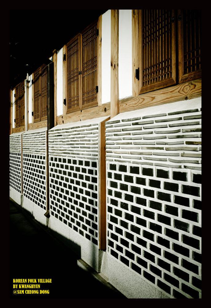 Korean Traditional Wall Tiles by visbimmer79