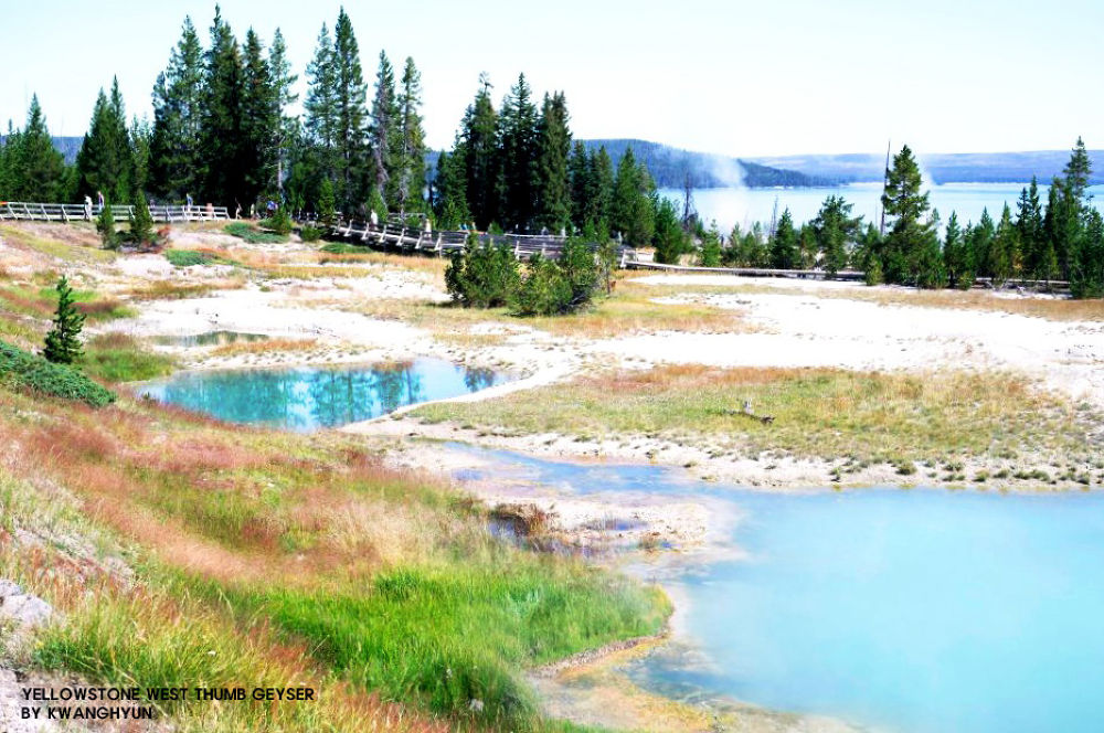 Yellowstone West Thumb Geyser by visbimmer79