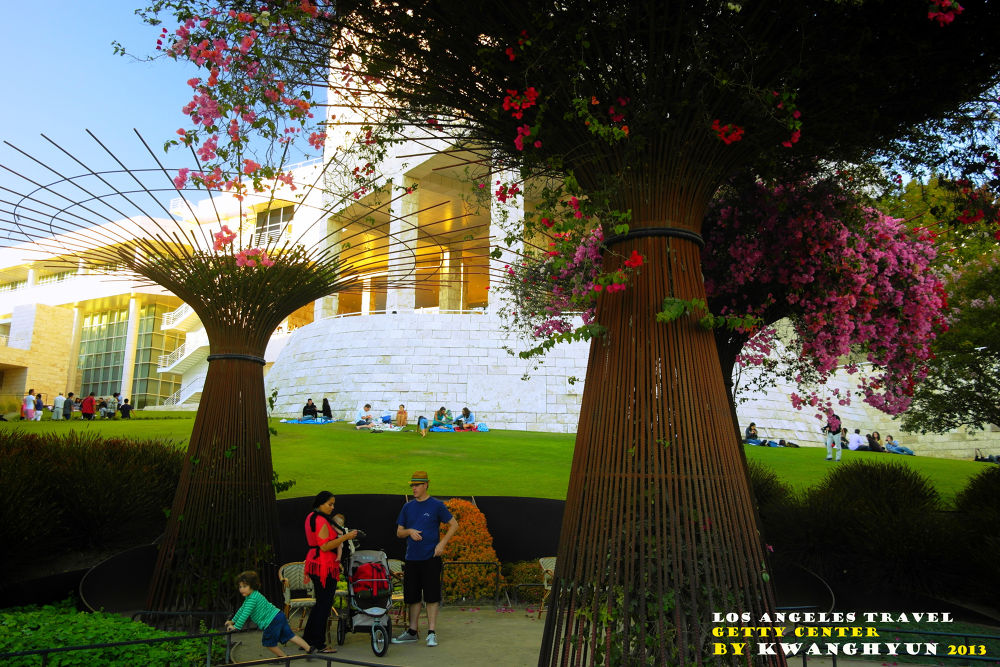 Photo in Architecture #getty center #los angeles #botanical garden