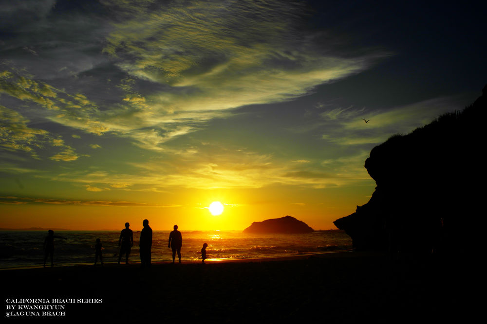 Laguna Beach Sunset by visbimmer79