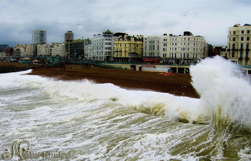 Crazy day in Brighton ... Good night ... UK-2008 by Nuha _Khaled