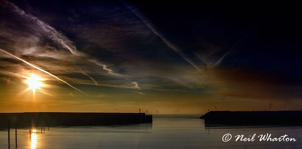 Harbour Mouth by neilwharton