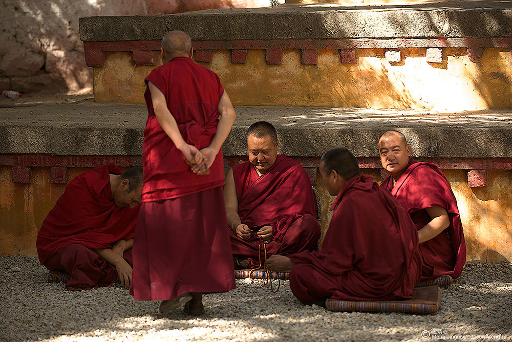 The Monks by Jason_Meng