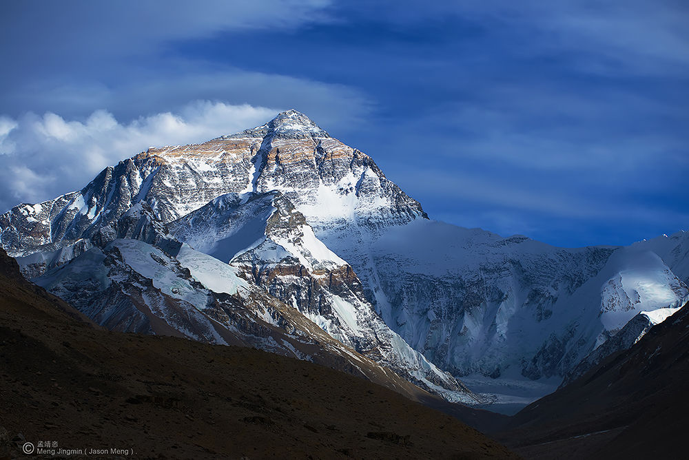 The Everest mountain 5 ( ཇོ་མོ་གླང་མ ). by Jason_Meng