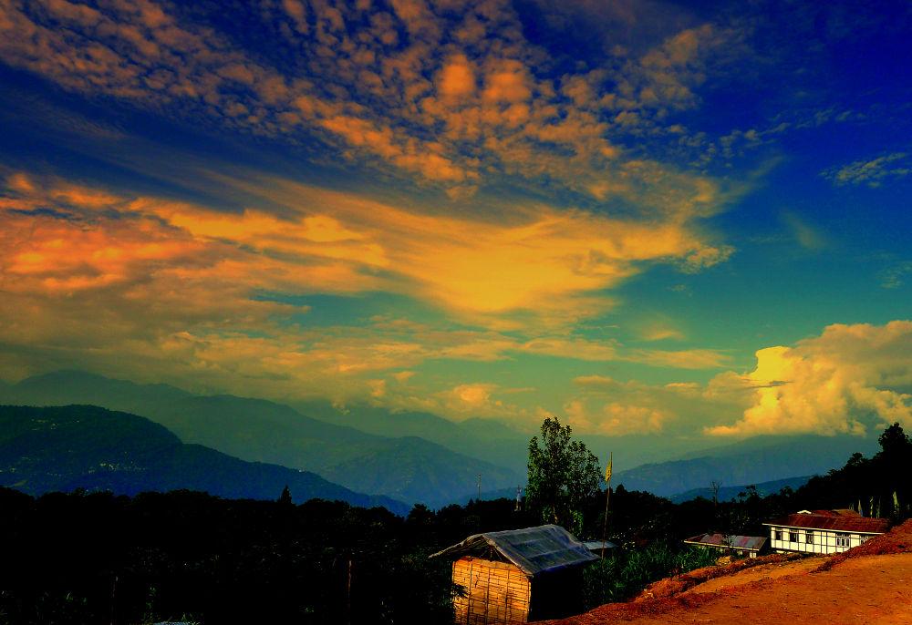 colour of the sky by samirsarkar