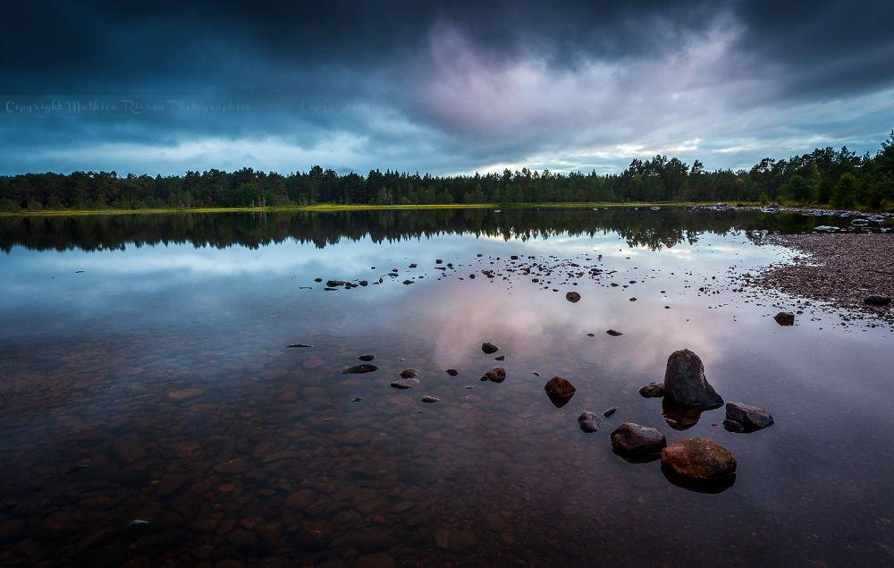 Apocalyptic Loch Morlich by Mathieu_rivrin