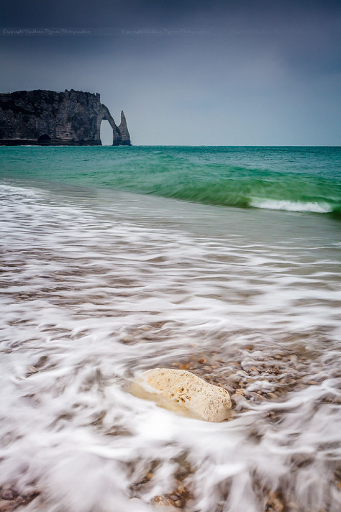 Photo in Nature #etretat #seine maritim #efrance #porte #gate #lee #filter #mathieu #rivrin #5dmk2 #sea #ocean #manche #minch #falaise #cliff #rock