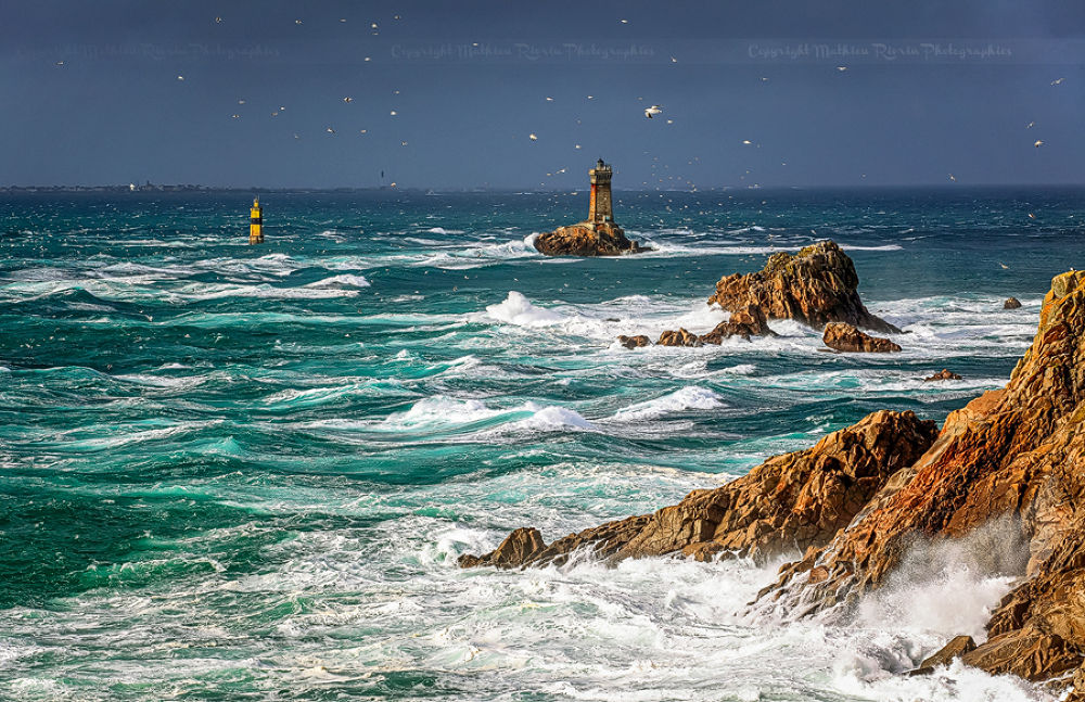Storm in Brittany by Mathieu_rivrin
