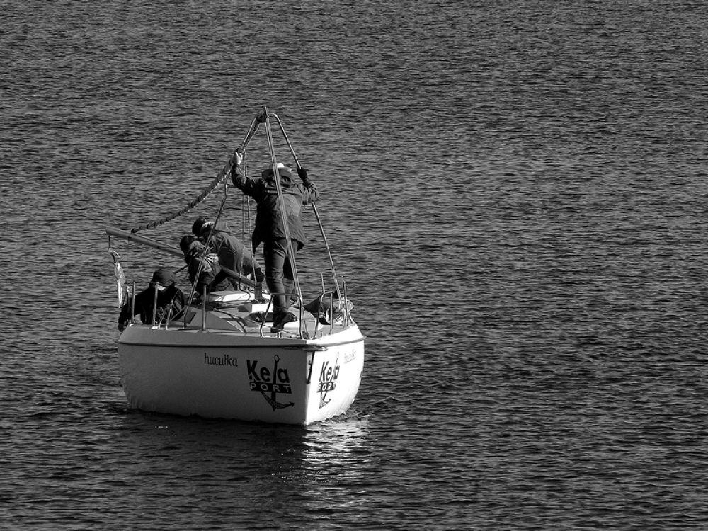 Yacht by Agnieszka Dubel