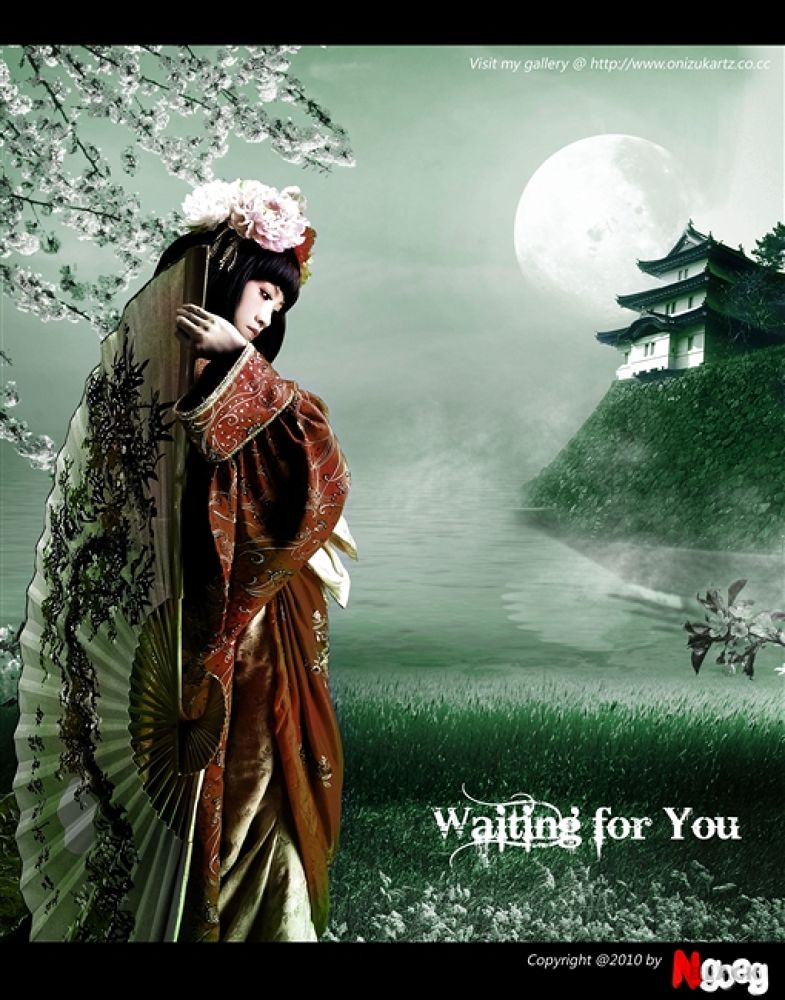 waiting for you by onizukartz