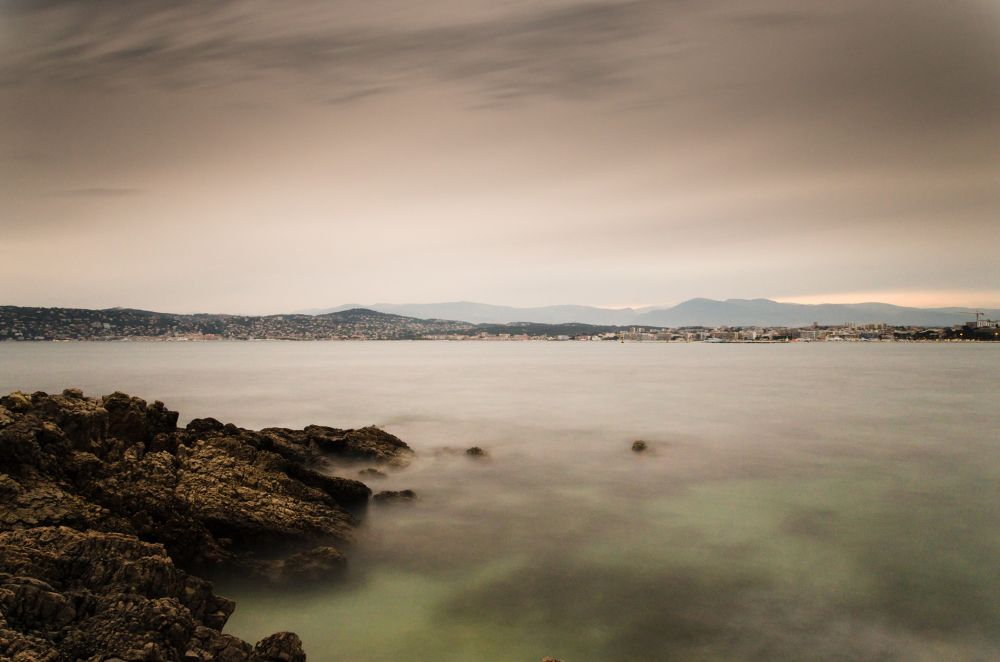 Cannes from Antibes by Ramzi
