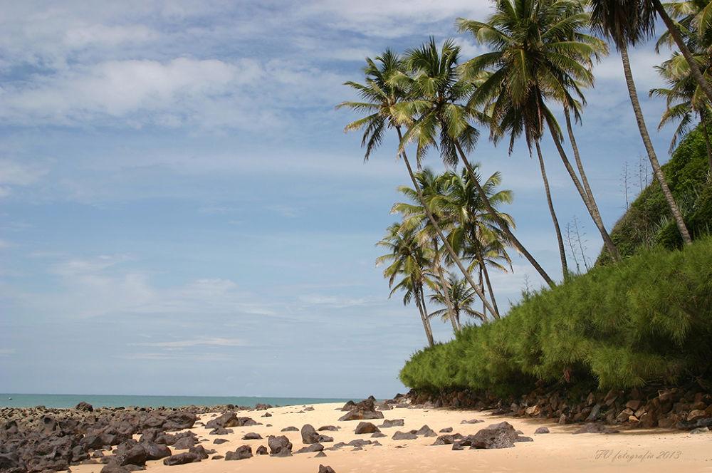 brazil beach by Fok Vleeshakker