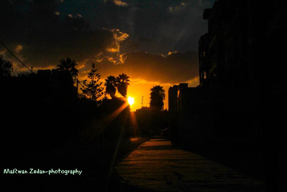 sunset by marwan Zedan-photography