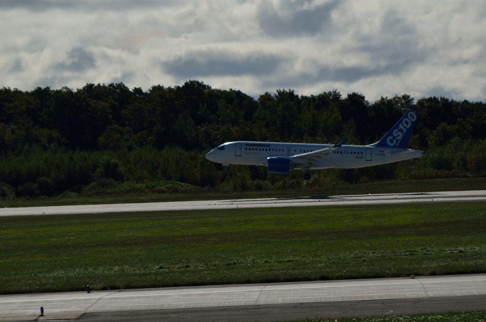 Cseries first flight by yvesleblanc7393