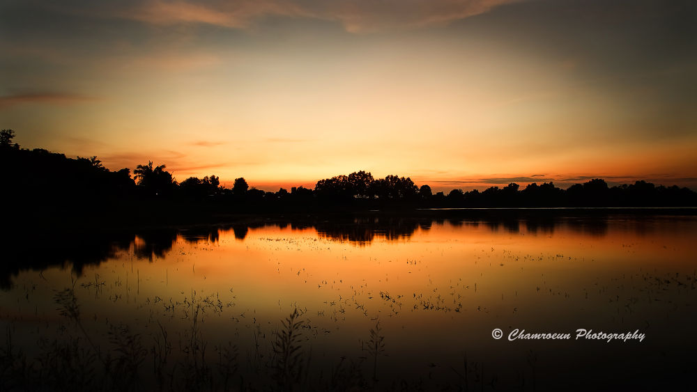 Sunset by Chamroeun Photography