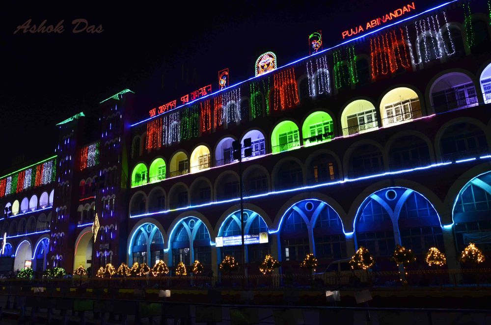 Festival of Lights by Asok Kumar Das