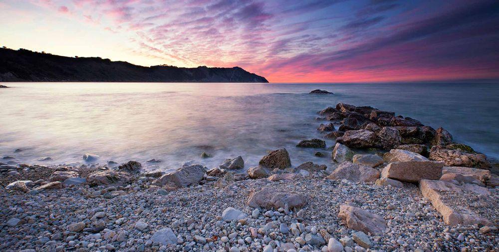 Seascape of Portonovo by Matteo Bonacci