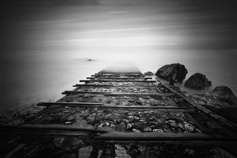 The Bridge of nowhere by Matteo Bonacci