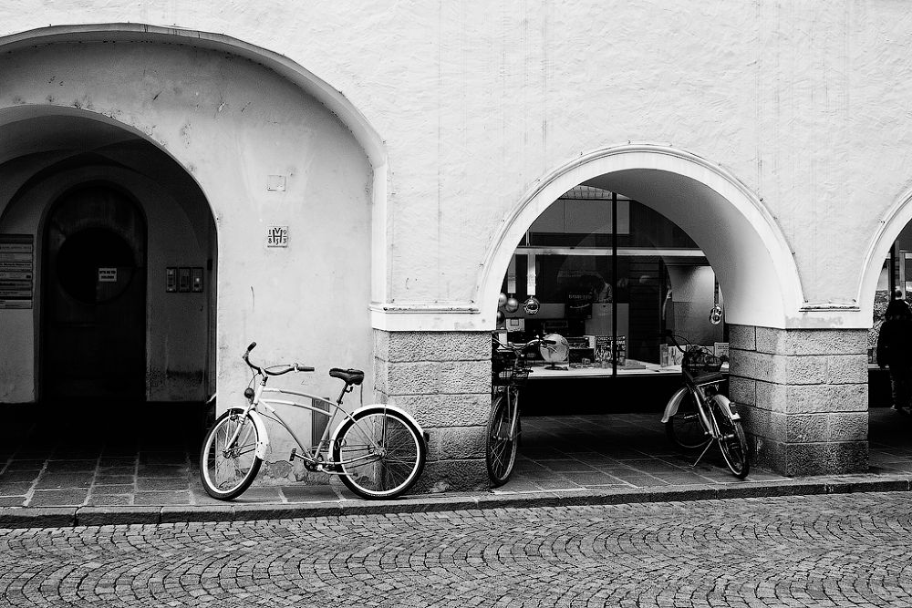 Photo in Black and White #bike