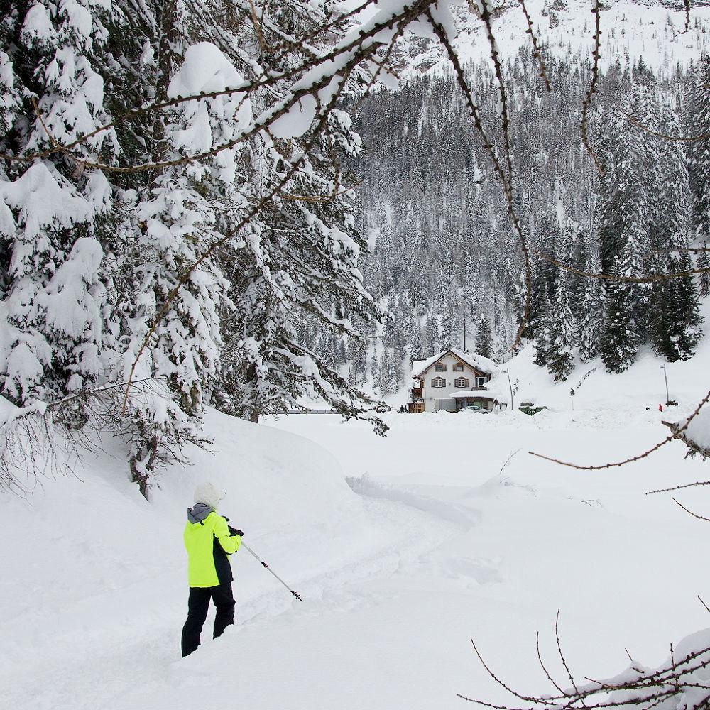 Photo in Landscape #snow #mountain #nature #dolomites