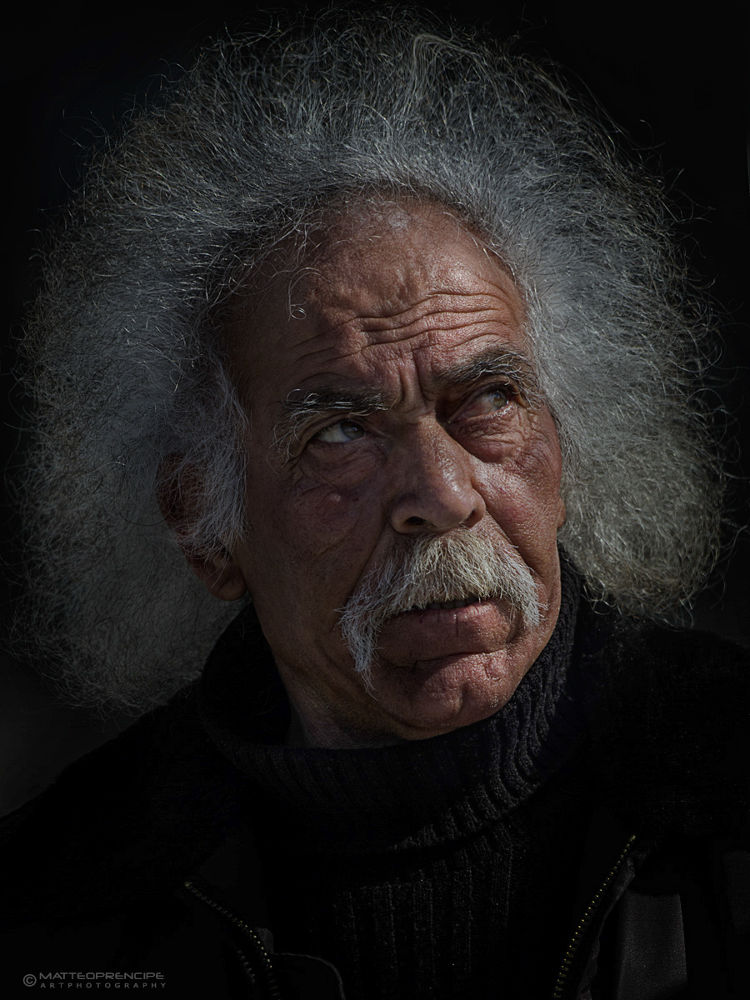 Photo in People #portrait #old man #lion #people #faces
