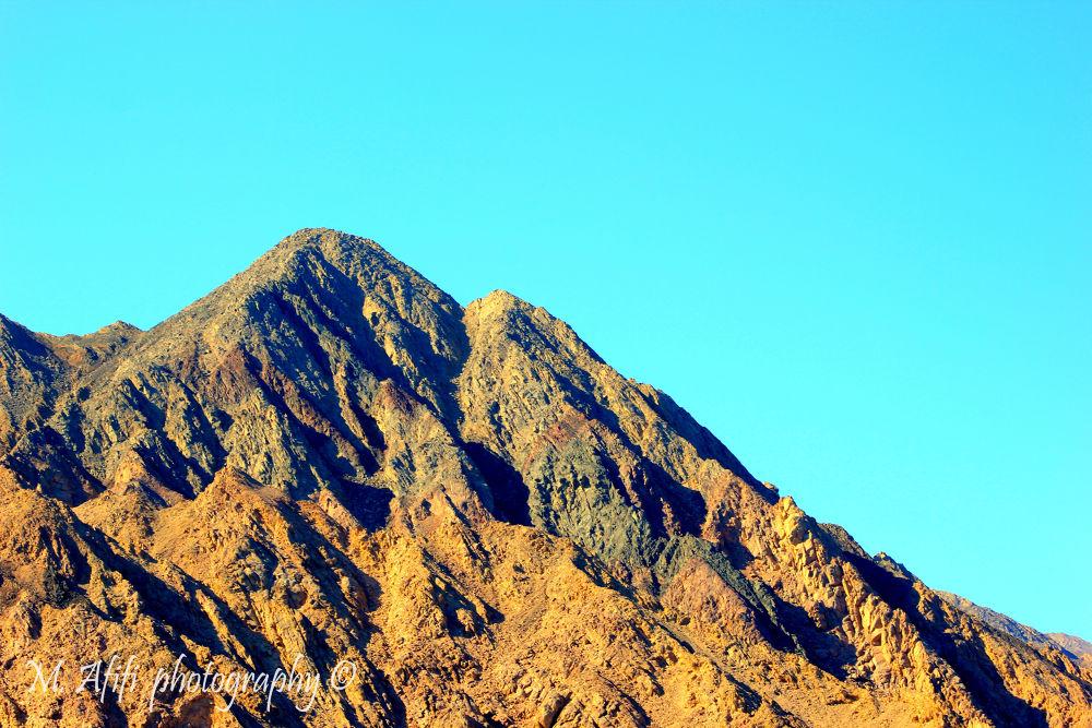 Mountain by M. Afifi