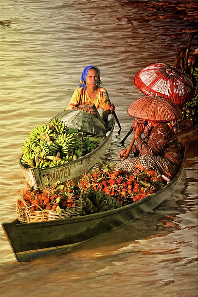 Floating Market, South Borneo by GustiNoorIfansjah