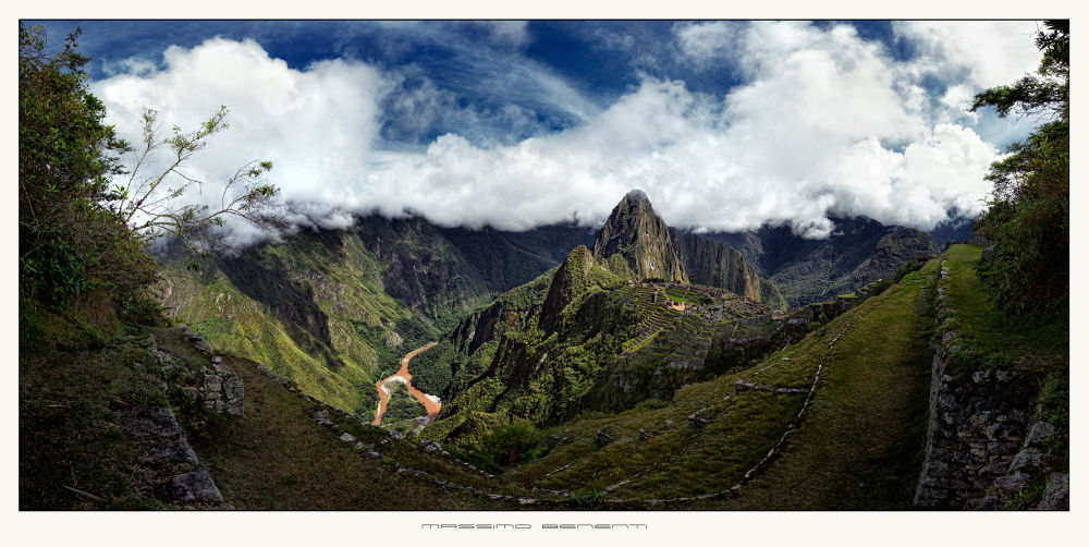 _MG_0184_P - Macchu Picchu panorama by massimo benenti