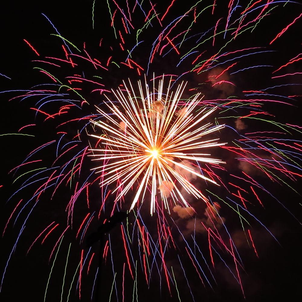 fuochi d'artificio by David H.Rizzi Bucher