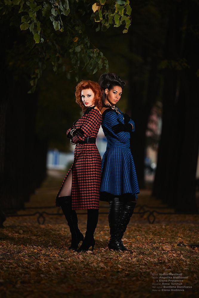 Elena & Angelika by VadimMaslikoff