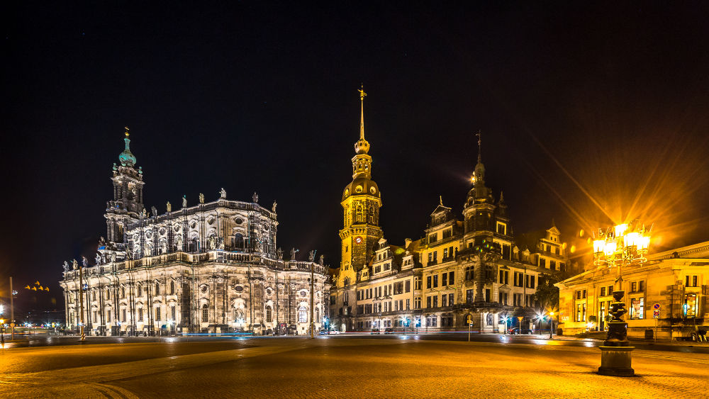 Dresden - Cathedral of St. Trinitatis  by Andreas