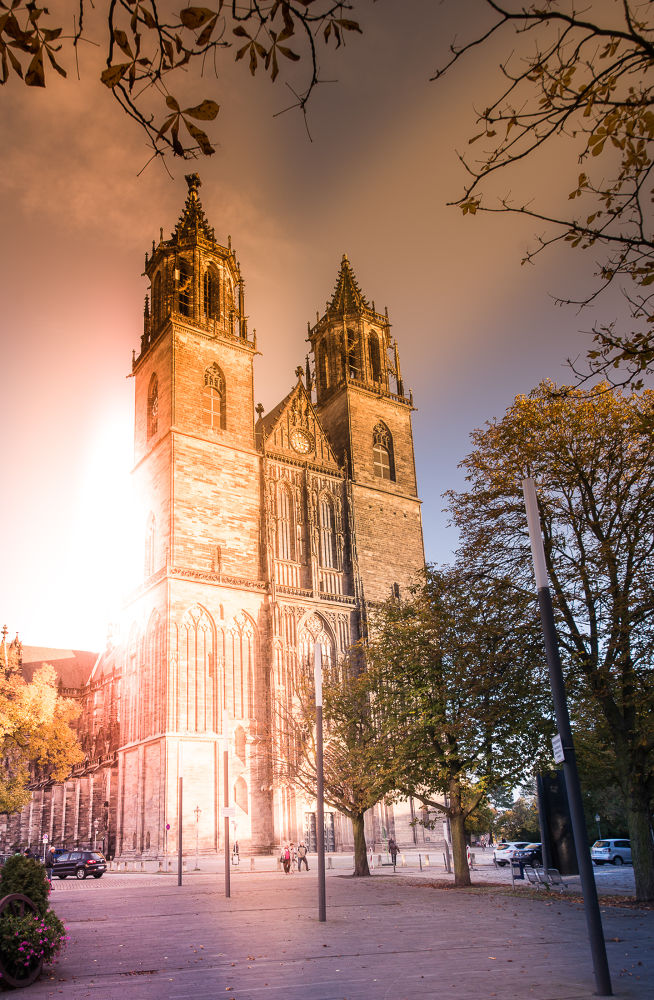 Cathedral - Magdeburg Saxony Anhalt by Andreas