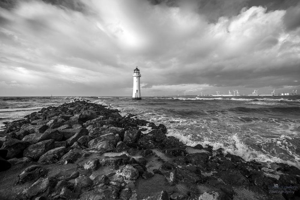 New Brighton - Stormy weekend by robfender
