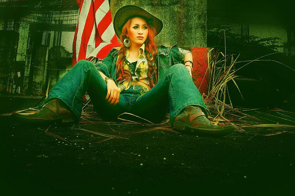 cowgirl by Sokheh Art Photoworks
