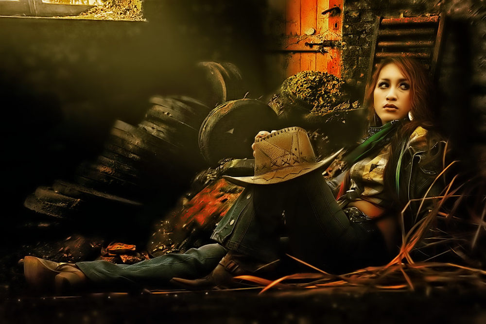 cowgirl by Sokheh Art Photoworks