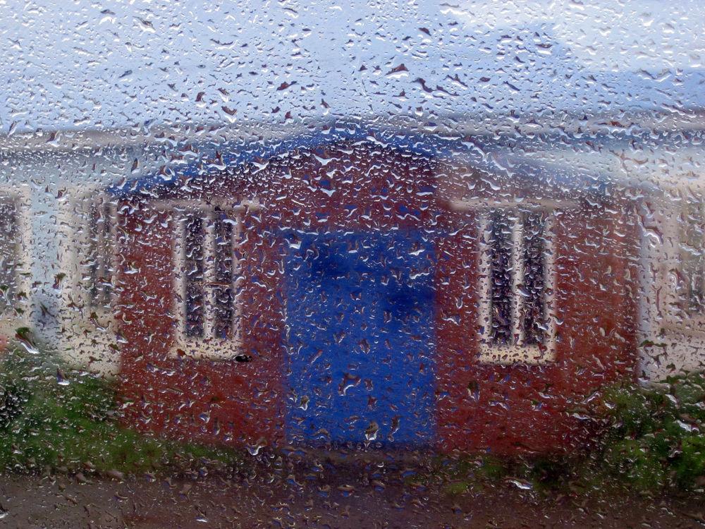 Rain From Train by monanorrman