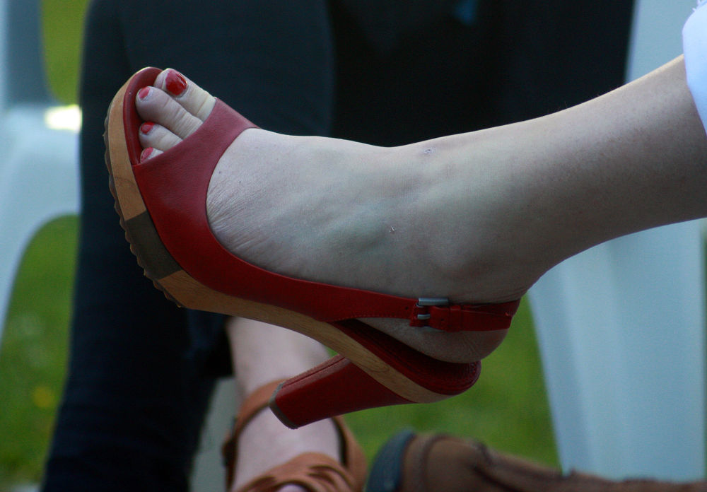 Photo in Random #red #shoe #ypa2013