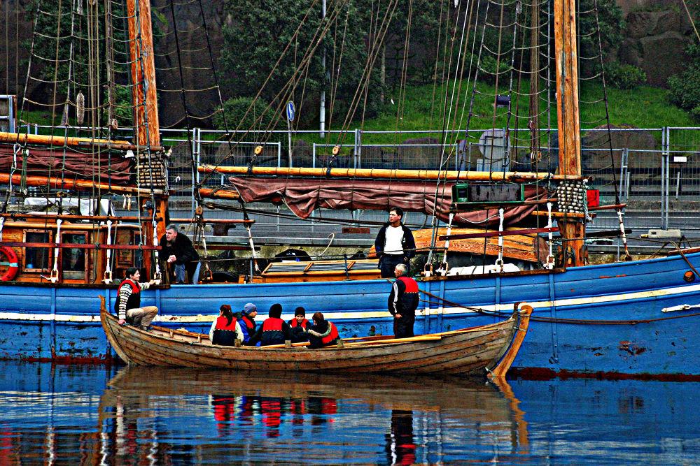 Photo in Random #boats #ypa2014 #faroe islands