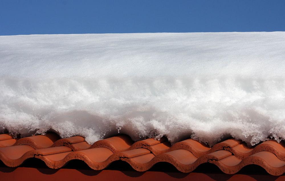Photo in Random #shingles #ypa2014 #snow #sweden #blue