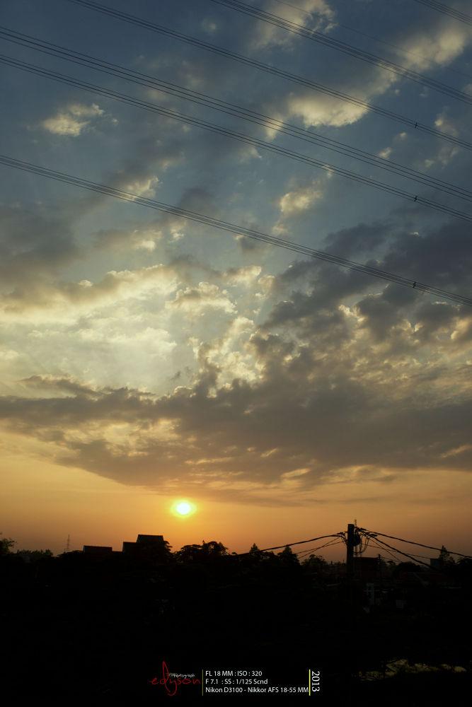 Sunrise Bekasi by Eddy WU