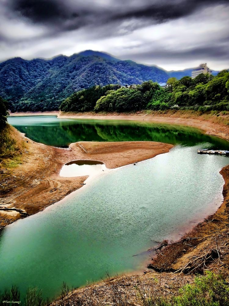 Photo in Random #lake #gunma #tsukiyono #dam #summer #water