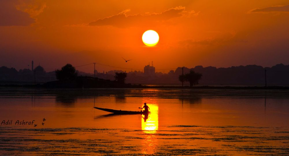 sunset by adilashraf