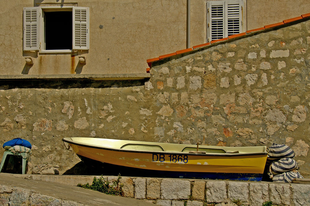 Fishing Boat by clivescottphoto