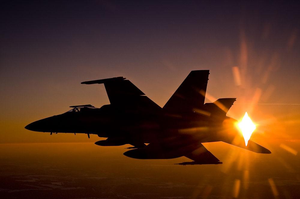 Hornet Sunset by clivescottphoto
