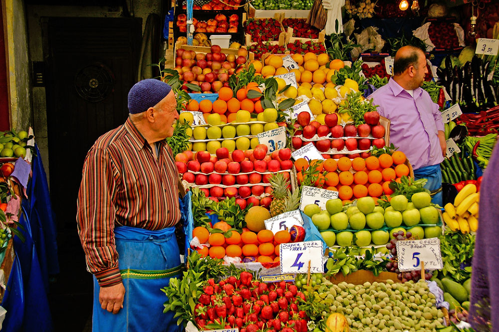 Fruit Sellers by clivescottphoto