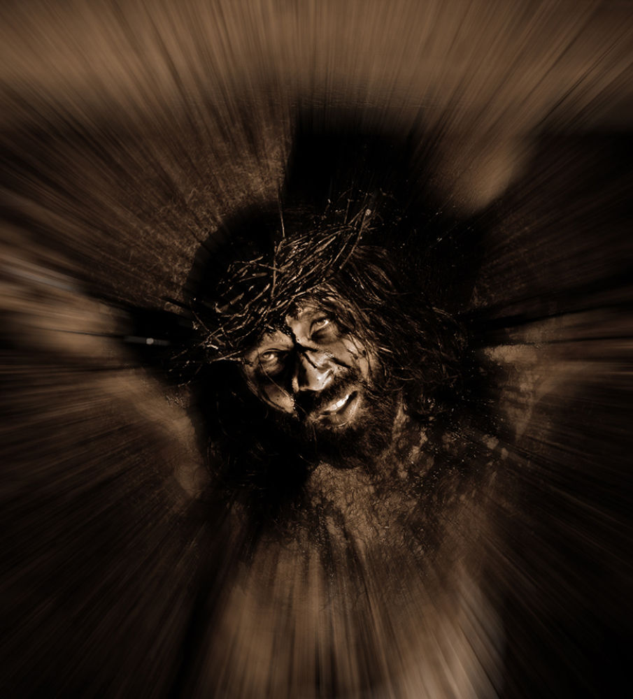Robert Bailey's Jesus 3 by clivescottphoto