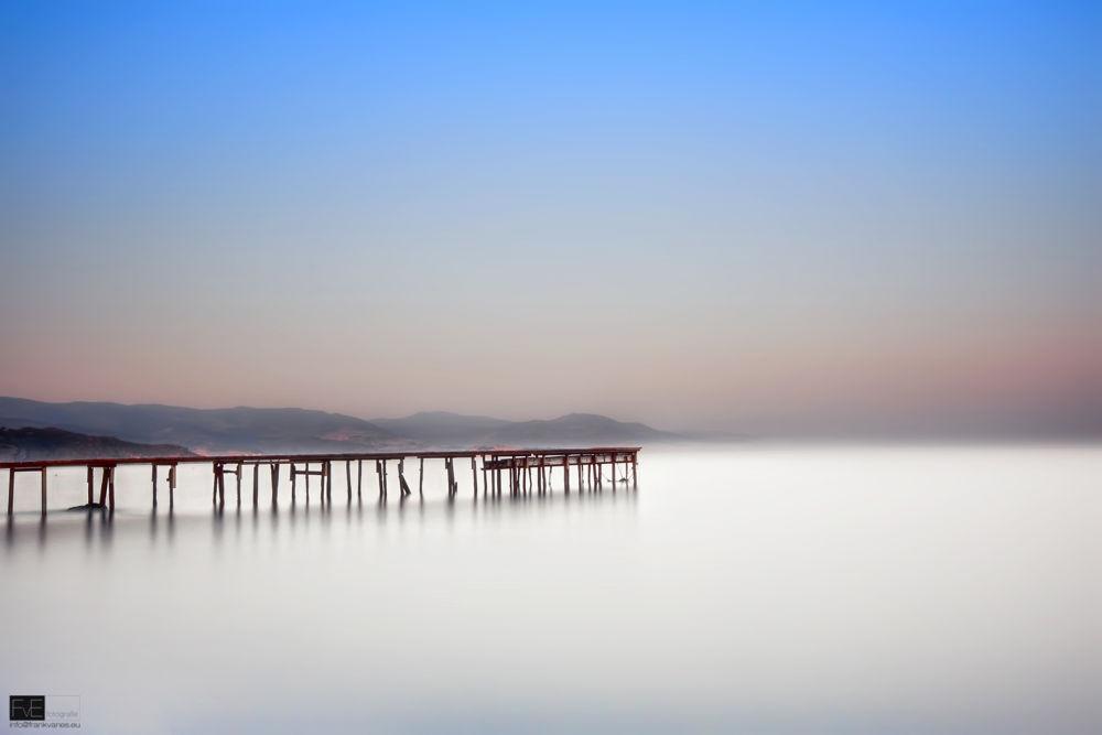 Lesvos jetty by Frank van Es