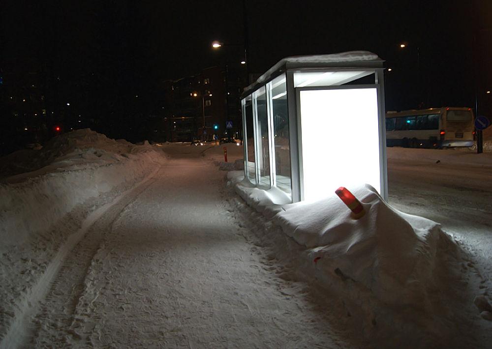 Photo in Street Photography #light #snow #evening