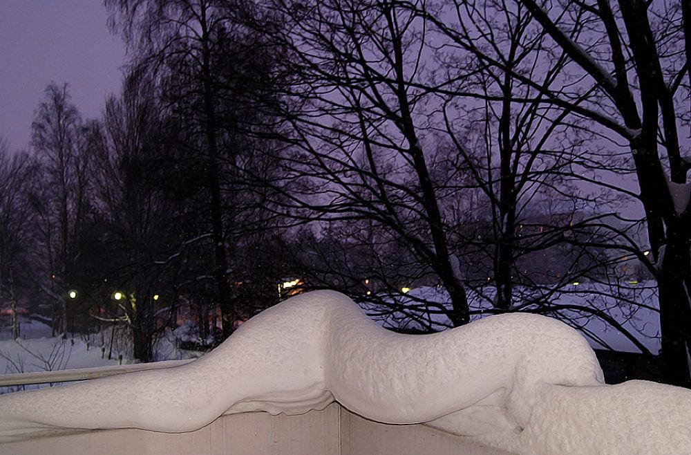 Snow Snake by Heljä Kostiainen