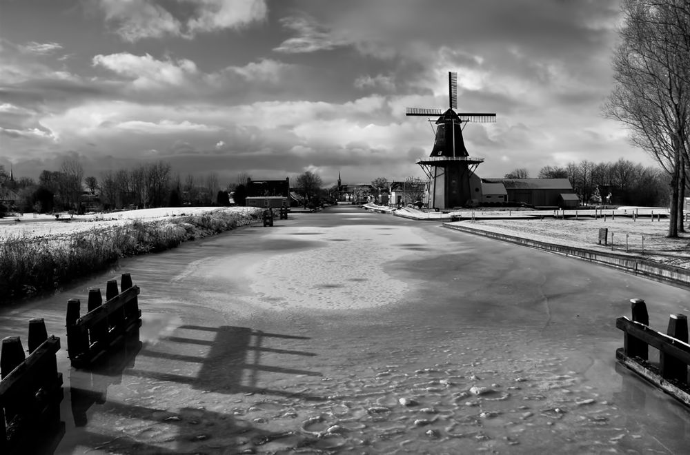 winter in Holland by Chris Bosch